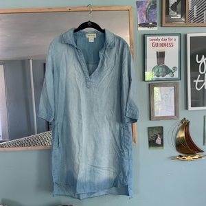 Medium Cloth & Stone Faded Chambre Tunic Dress